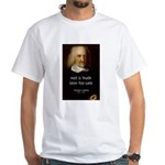 Thomas Hobbes Truth White T-Shirt