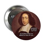"Spinoza Ethics Philosophy 2.25"" Button (100 pack)"