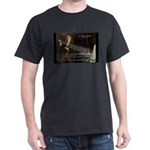 Isaac Newton Laws Motion Black T-Shirt