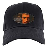 Sir Isaac Newton Space Black Cap