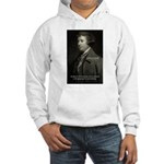 Edmund Burke: Good & Evil Hooded Sweatshirt