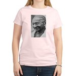 Power of Truth Gandhi Women's Pink T-Shirt