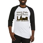 Mayor Nagin Chocolate Factory Baseball Jersey