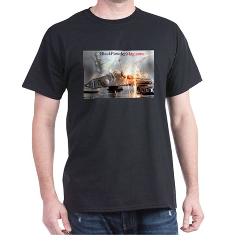 Black Powder Flintlock T-Shirt