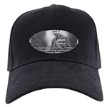 Albert Camus Philosophy Quote Black Cap