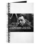 Albert Camus Motivational Journal