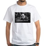 Albert Camus Motivational White T-Shirt