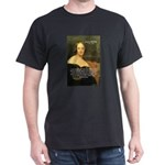 Frankenstein: Mary Shelley's  Black T-Shirt