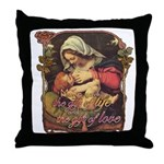 """Gift of Love"" Throw Pillow"