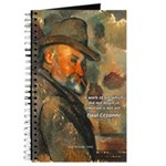 Cezanne Emotion Artistic Quote Journal