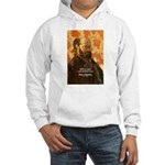 Cezanne Famous Paris Quote Hooded Sweatshirt
