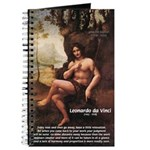 Leonardo da Vinci Quote Journal