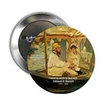 French Painter Manet Quote Button