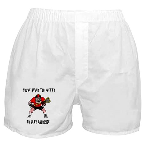 funny boxers. Funny Lacrosse Boxer Shorts