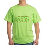 Christmas Oy! Green T-Shirt