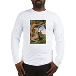 Sistine Chapel Adam & Eve Long Sleeve T-Shirt