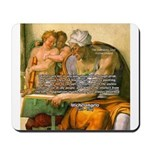 Michelangelo Art Philosophy Mousepad