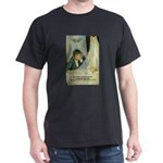 Female Artist Morisot Quote Black T-Shirt