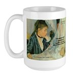Female Artist Morisot Quote Large Mug