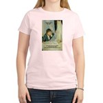 Female Artist Morisot Quote Women's Pink T-Shirt