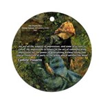Pissarro Art of Impressions Ornament (Round)