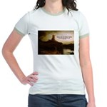 Rembrandt Painting & Quote Jr. Ringer T-Shirt