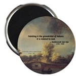 "Rembrandt: on God & Painting 2.25"" Magnet (100 pac"
