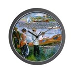 Renoir Painting: Art & Beauty Wall Clock