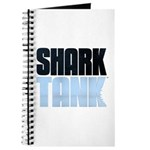 Shark Tank Blue Logo Journal