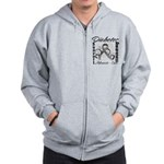Diabetes Awareness Zip Hoodie