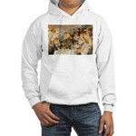 Renoir Quote and Landscape Hooded Sweatshirt