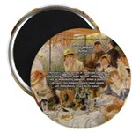"Renoir Quote and Landscape 2.25"" Magnet (10 pack)"