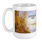Alfred Sisley Nature Quote Large Mug
