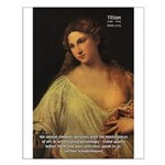 Titian Renaissance Master Small Poster
