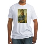Vincent Van Gogh Quote Fitted T-Shirt