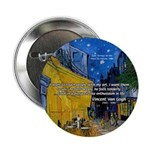Vincent Van Gogh Color Art 2.25&quot; Button (100 pack)