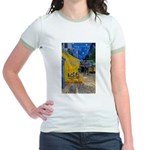 Vincent Van Gogh Color Art Jr. Ringer T-Shirt