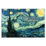 Starry Night Vincent Van Gogh Large Poster