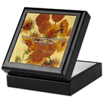 Van Gogh Painting & Quote Keepsake Box