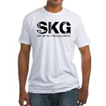 Thessaloniki Airportcode Greece SKG Fitted T-Shirt