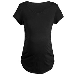 Custom Dark Maternity T-shirt