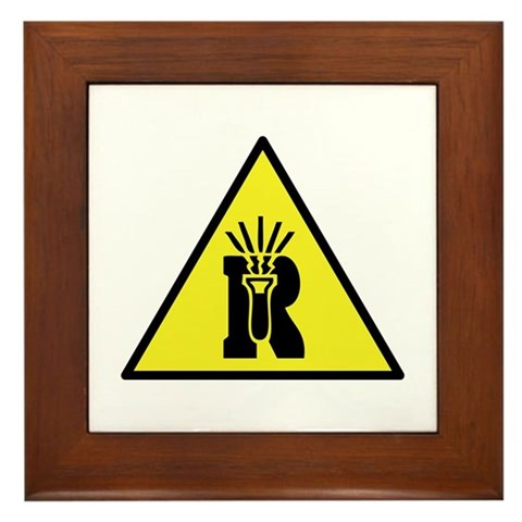 Dangerously Reactive Material Warning Sign. Be proud to be a geek or nerd, especially since it's very cool lately! Get this fun Ultra Geek design on great