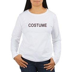 t-shirt that reads costume