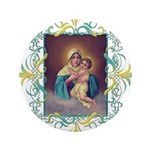 "MTA - Our Lady of Schoenstatt 3.5"" Button"