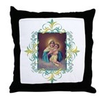MTA - Our Lady of Schoenstatt Throw Pillow