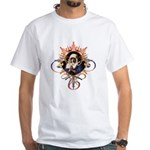 Pray the Rosary White T-Shirt