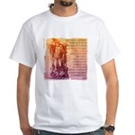 St. Michael Prayer in Latin White T-Shirt