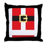 Santa Suit Throw Pillow