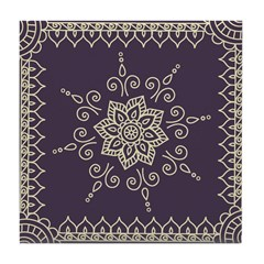 eggplant purple designer ceramic tile henna mehndi heather