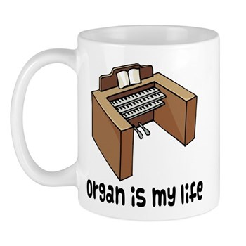 organ mugs